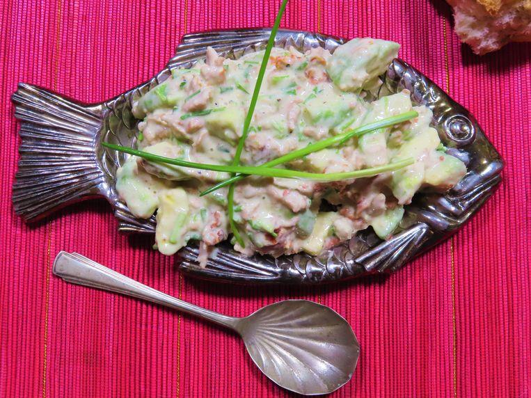 'Tonijn'- salade  Beeld Loethe Olthuis