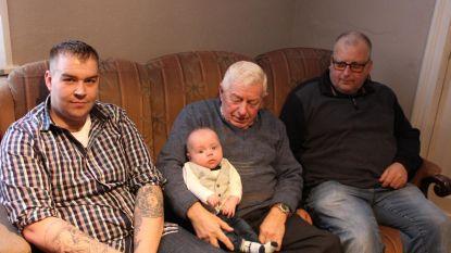 Familie Van Broeck viert viergeslacht