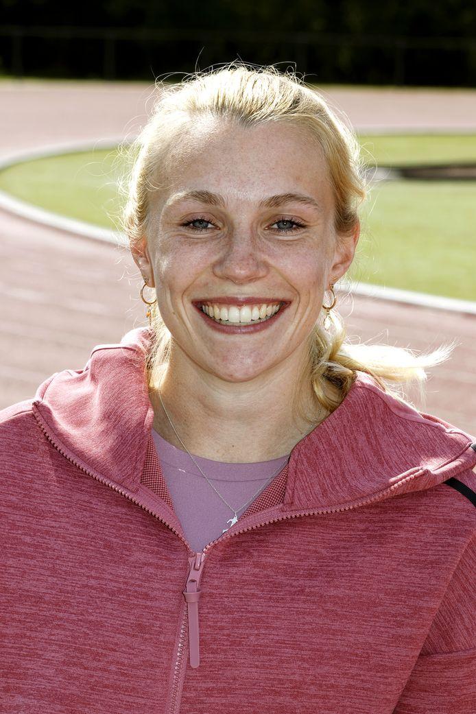 Atlete Maureen Herremans uit Eindhoven.