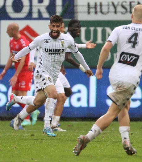 Charleroi arrache l'égalisation à la 95e minute à Courtrai