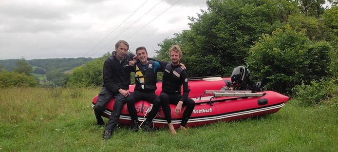 Fabrice, Marc et Dan