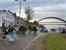 Culemborg en Houten geloven er weer in: sneller heen en weer dankzij fietsbrug over de Lek