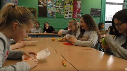 Leerlingen De Blokkendoos maken kortfilm over gezonde voeding