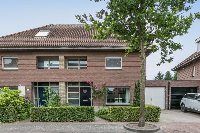 De woning aan de Akkerweg in Helmond.