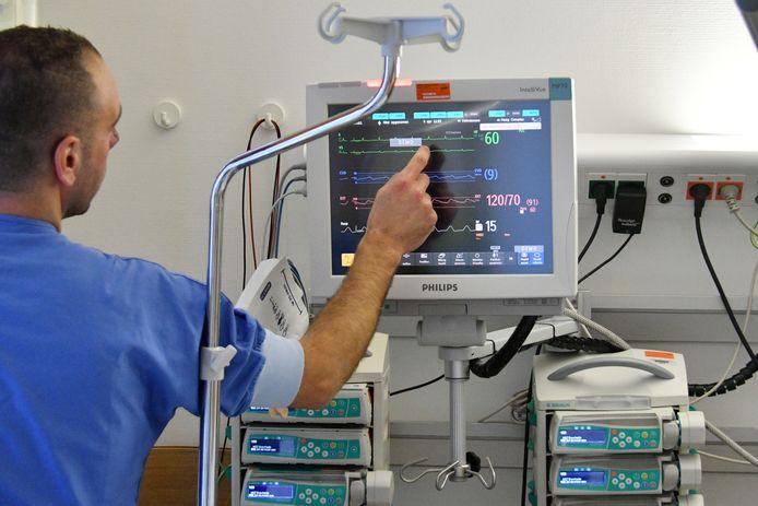 Ingebruikname nieuwe IC-bedden in ziekenhuis Medisch Spectrum Twente. Corona thuis behandelen, niet iedereen lijkt dat verstandig.