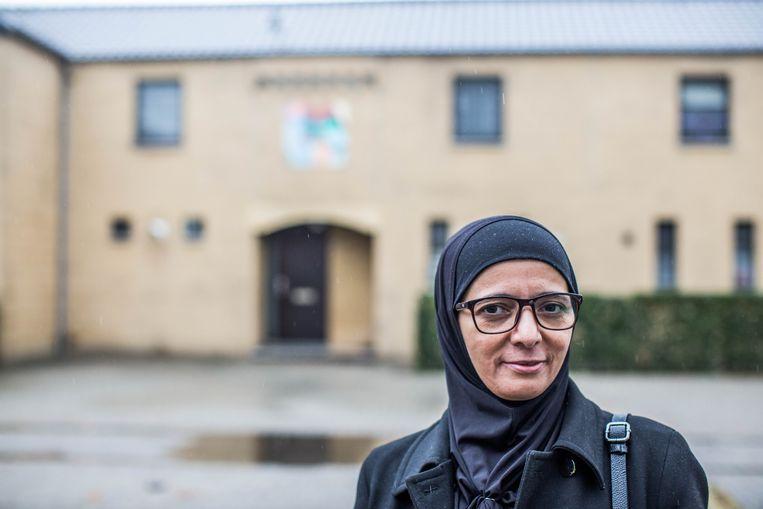 Rachma Ayad, moeder van Syrië-ganger Amina G. Beeld thomas legreve