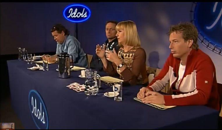 De juryleden moesten een juryauditie doen in hotel de Witte Bergen bij Hilversum, om te kijken of het klikte. Beeld