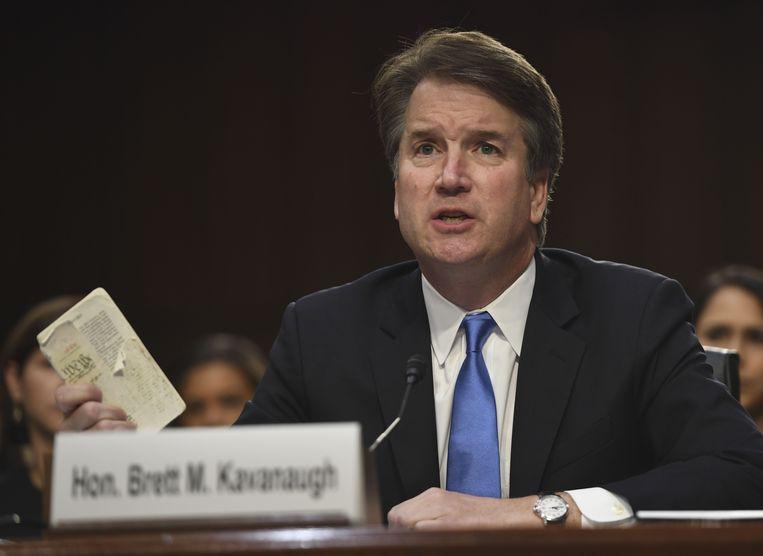 Brett Kavanaugh. Beeld AFP