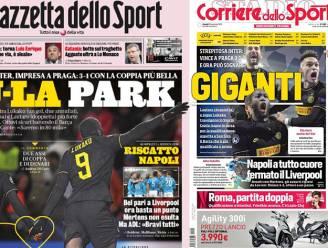 """Italiaanse pers hemelt spitsenduo 'LuLa' op nadat """"monsterlijke"""" Lukaku de kaap van 250 goals rondt"""