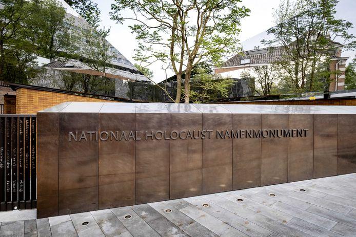 Het Nationaal Holocaust Namenmonument aan de Weesperstraat van architect Daniel Libeskind.