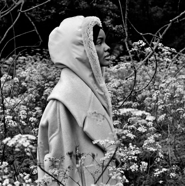 Halima Aden, Londen 2017.   Beeld Anton Corbijn