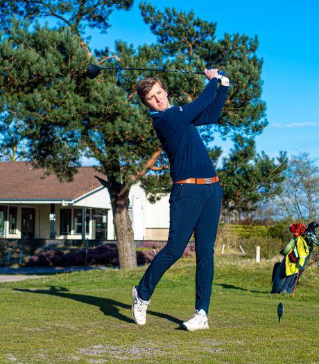 Topamateurgolfer Jeroen Schouten: 'Golfen is soms verschrikkelijk, dat is het mooie van de sport'