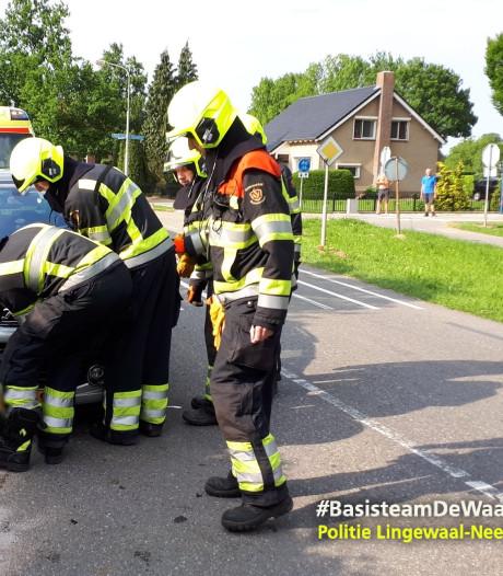 Automobilist gewond door kop-staartbotsing in Kerkwijk