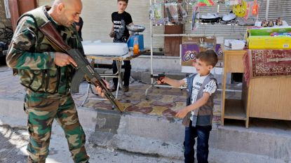 'Soldaatje spelen' in Syrië