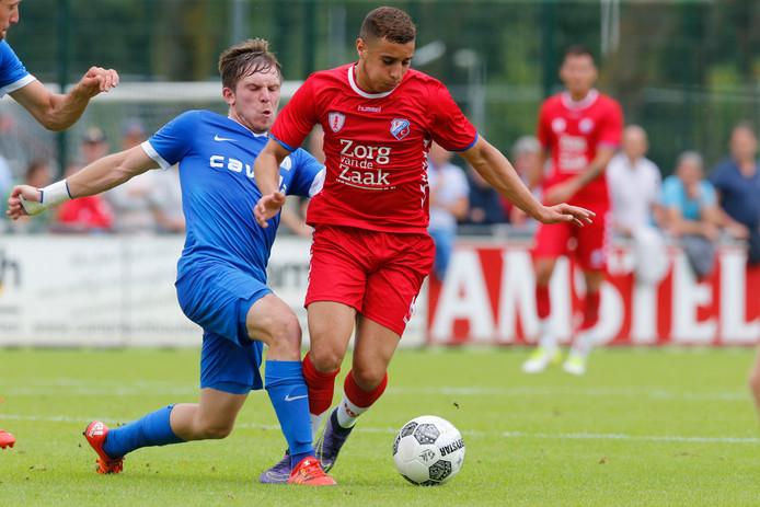 Ould-Chikh in 2017 namens FC Utrecht.