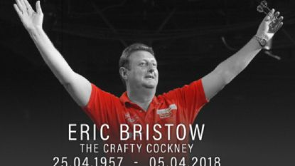 Dartslegende Eric Bristow (60) overleden