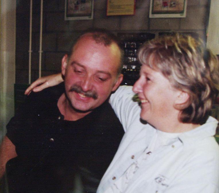 Marc Munten en zijn vrouw Jeanine Vanwymelbeke voor de noodlottige dag in 2001.