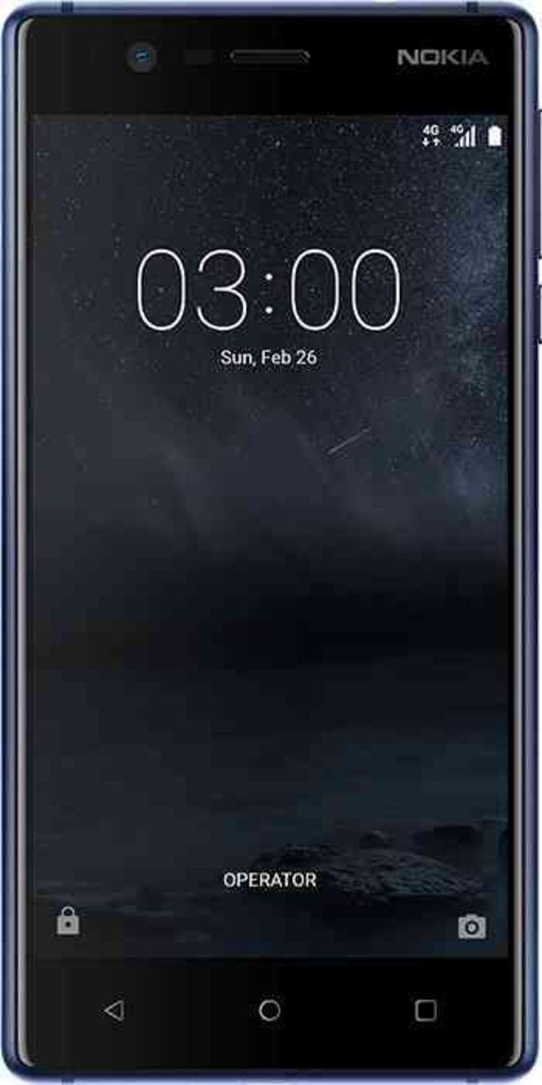 De nieuwe Nokia 3. Beeld Nokia