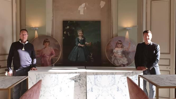 Gestolen medaillon en schilderijen vinden hun weg terug naar Hof ter Linden