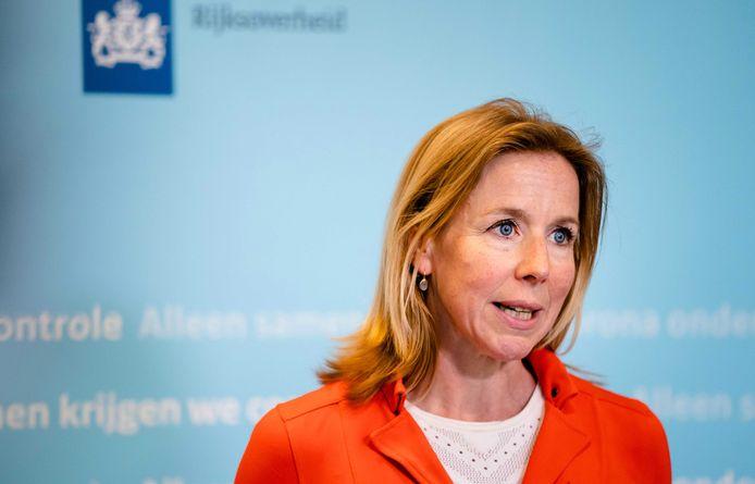 Staatssecretaris Stientje van Veldhoven van Infrastructuur.