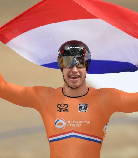 Lavreysen is de baas op het koningsnummer van het baanwielrennen: 'De sprint maakt meer los'