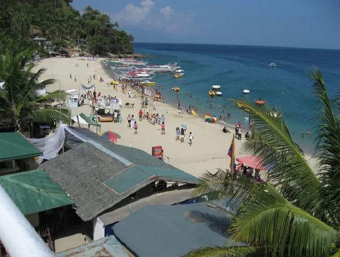 White Beach in Puerto Galera.