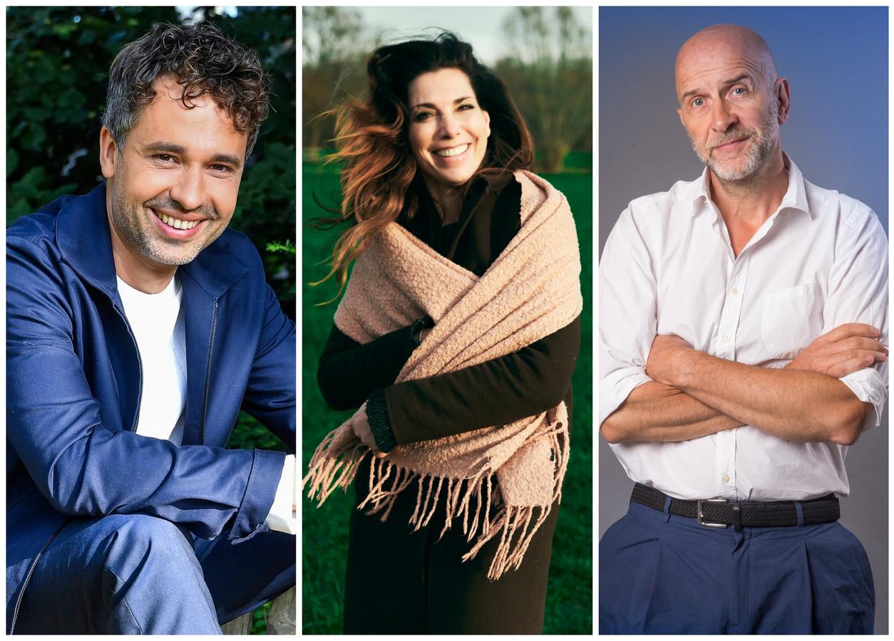 Oud-Vlaanderen Vakantieland-presentatoren Thomas Vanderveken, Saartje Vandendriessche en Nic Balthazar blikken terug.