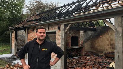 Zware brand treft woning jong gezin