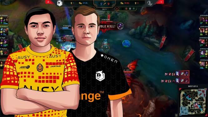 Kijk hoe KV Mechelen Esports vorige kampioen van de troon stootte in League of Legends-finale