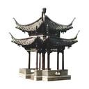 Het ontwerp van het Chinese paviljoen dat Breda cadeau heeft gekregen van zusterstad Yangzhou.
