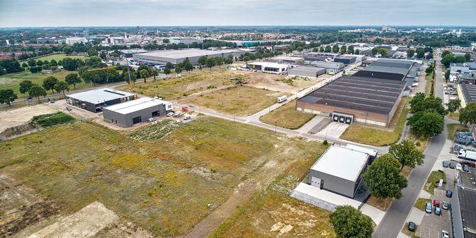 Volop ontwikkeling aan de Voorschakelstraat op het voormalig Philips-terrein in Oss.