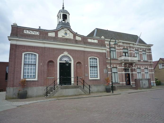 Het Ambachtsherenhuis in Oud-Vossemeer.