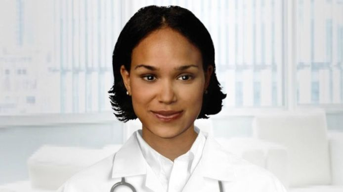 Virtuele verpleegkundige Molly.