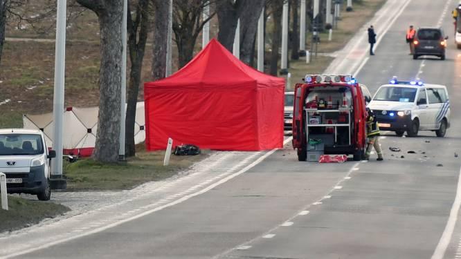 Motorrijder verongelukt na manoeuvre op Leuvensesteenweg in Boutersem