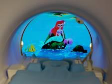 Nooit meer bang dankzij Ariël of Mickey Mouse: Philips en Disney maken medische scanner minder eng voor kinderen
