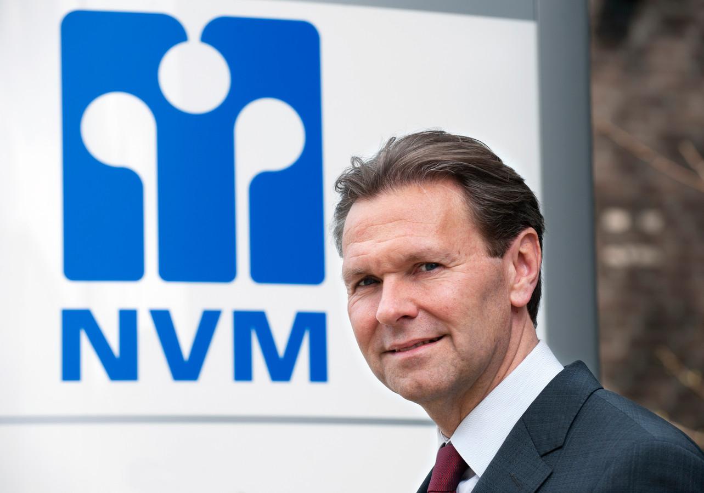 Ger Jaarsma, de voorzitter van de NVM