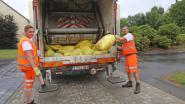 Hitte-alarm: vuilniswagens halen afval deze week vroeger op