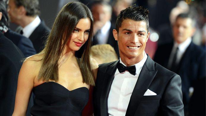 Irina Shayk en Cristiano Ronaldo.