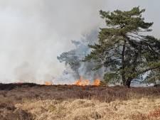 Brandweer Dedemsvaart helpt bij bestrijding Twentse natuurbrand