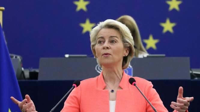 Ursula von der Leyen prononce son discours sur l'avenir de l'Europe