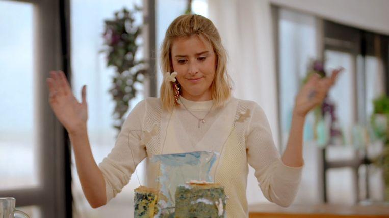 Alexandra in 'Bake Off Vlaanderen' Beeld VIER