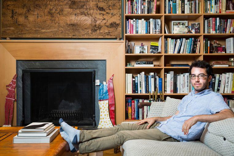 Jonathan Safran Foer: 'Ik verkies de kleine boekenwereld boven de glamoureuze tv-wereld.' Beeld Natan Dvir / Polaris Images