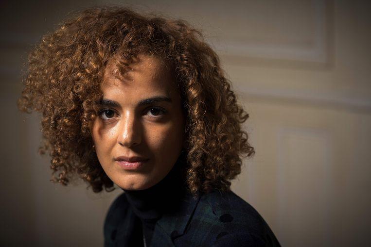 Leila Slimani Beeld AFP
