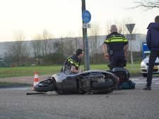 Scooterrijder gewond bij ongeluk met auto in Rijen