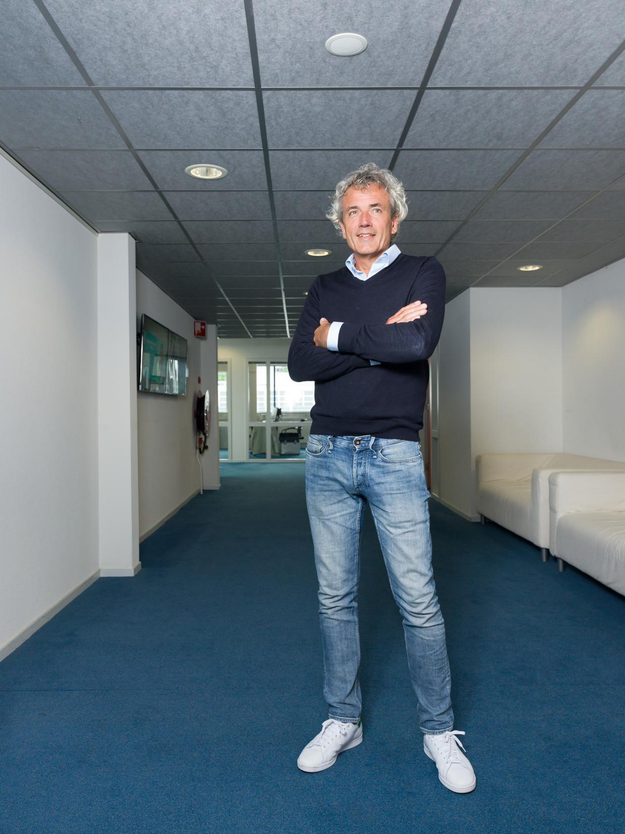 AT5-directeur Alphons Martens: 'Ik verwijt mezelf dat ik niet zichtbaarder ben geweest.' Beeld Ivo van der Bent