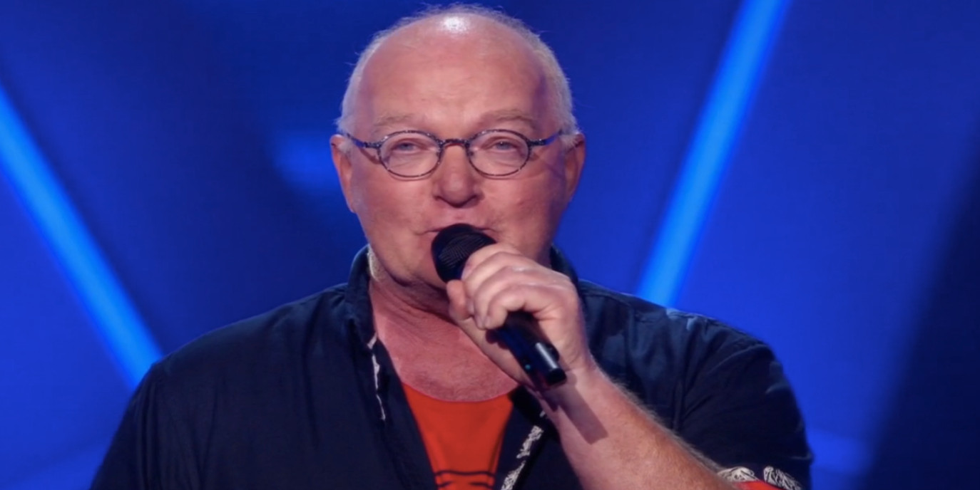 Frits Tilburg in The Voice Senior