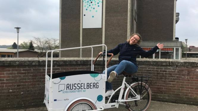 Campus Russelberg brengt infosessies via bakfiets