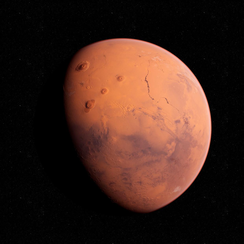 Het nieuwe Marswagentje van de Nasa moet bodemmonsters gaan verzamelen. Beeld Getty Images/Science Photo Libra