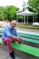 Peter Uytdehage in het Vrouwenhofpark.