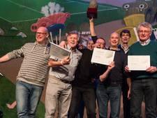 Carnavalsorkest Wanklank wint oeuvreprijs van Krutjesgat